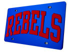 Mississippi Rebels Laser Tag Auto Accessories