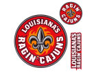 Louisiana Lafayette Ragin Cajuns 12x12 Multipack Magnet Auto Accessories