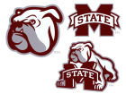 Mississippi State Bulldogs 12x12 Multipack Magnet Auto Accessories