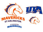 University of Texas Arlington Mavericks 12x12 Multipack Magnet Auto Accessories