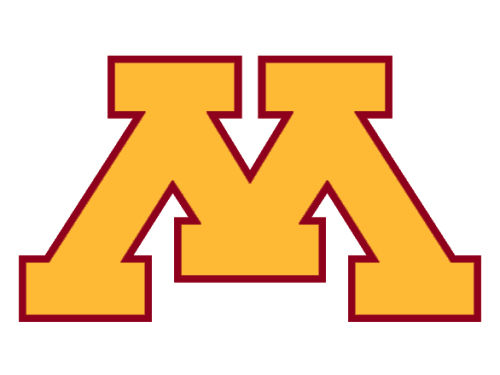 Minnesota Golden Gophers 4x4 Magnet
