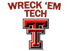 Texas Tech Red Raiders Moveable 12x12 Decal Auto Accessories