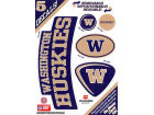 Washington Huskies Moveable 5x7 Decal Multipack Bumper Stickers & Decals