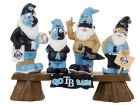 Tampa Bay Rays MLB Fan Gnome Bench Lawn & Garden