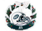 New York Jets Forever Collectibles NFL Helmet Wreath 20 Inches Holiday
