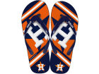 Houston Astros Forever Collectibles Big Logo Flip Flop-MLB Knick Knacks