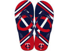 Minnesota Twins Big Logo Flip Flop-MLB Knick Knacks