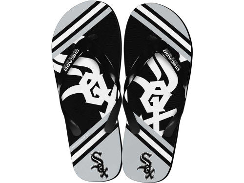 Chicago White Sox Forever Collectibles Big Logo Flip Flop-MLB