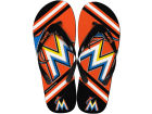 Miami Marlins Forever Collectibles Big Logo Flip Flop-MLB Knick Knacks