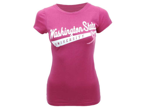Washington State Cougars NCAA Womens BCA Slider T-Shirt