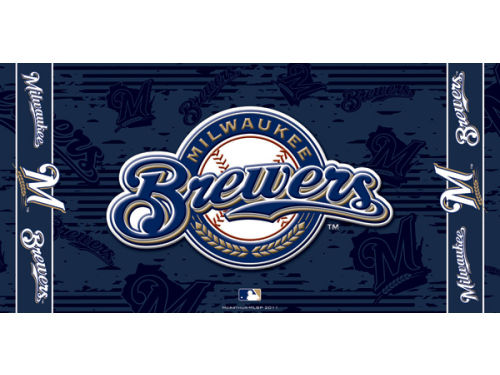 Milwaukee Brewers Mcarthur 2012 Beach Towel-MLB