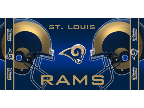 St. Louis Rams Mcarthur 2012 Beach Towel-NFL