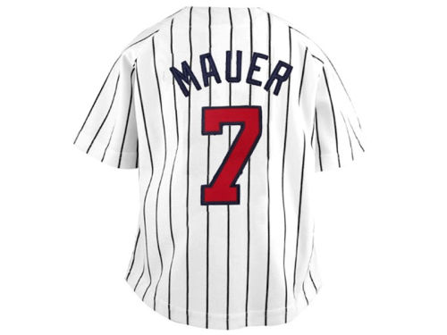 Minnesota Twins Joe Mauer Franco MLB OLD Youth Player Replica Jersey