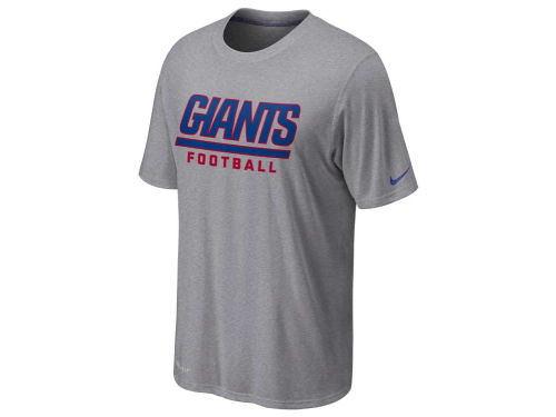 New York Giants Nike NFL Legend Authentic Font T-Shirt
