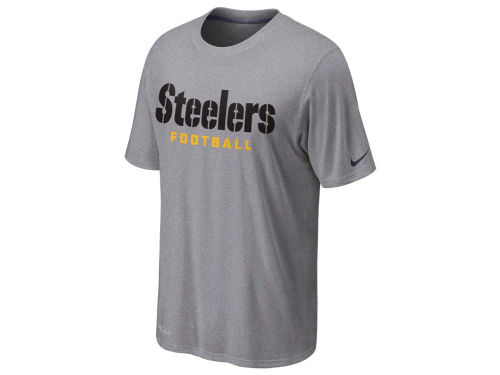Pittsburgh Steelers Nike NFL Legend Authentic Font T-Shirt