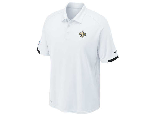 New Orleans Saints Nike NFL Dri-Fit Practice Polo