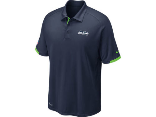 Seattle Seahawks Nike NFL Dri-Fit Practice Polo
