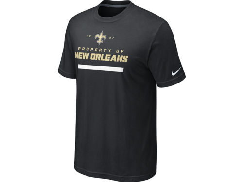 New Orleans Saints Nike NFL Property Of 2012 T-Shirt
