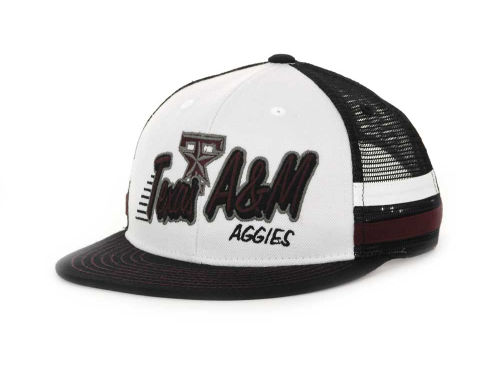 Texas A&M Aggies Top of the World NCAA Supra Stripe MB Snapback Cap Hats