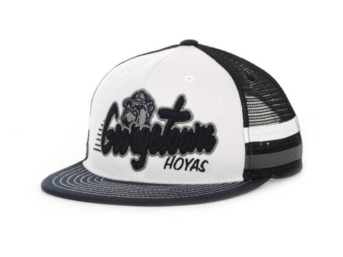 Georgetown Hoyas Top of the World NCAA Supra Stripe MB Snapback Cap Hats