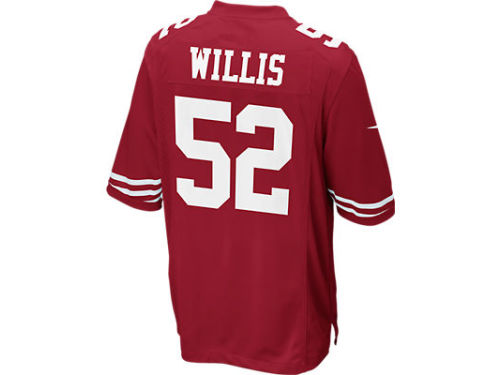 San Francisco 49ers Patrick Willis Nike NFL Game Jersey