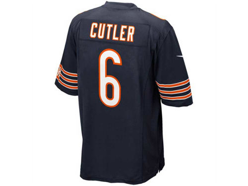 Chicago Bears Jay Cutler Nike NFL Men's Game Jersey