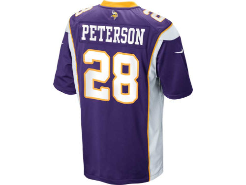 Minnesota Vikings Adrian Peterson Nike NFL Game Jersey