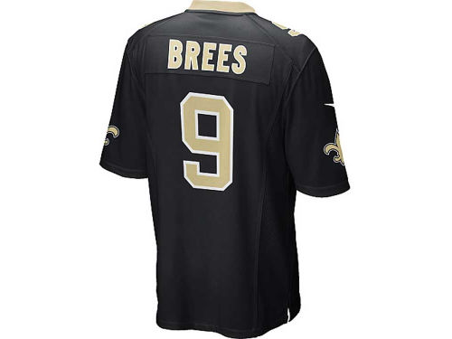 New Orleans Saints Drew Brees Nike NFL Men's Game Jersey