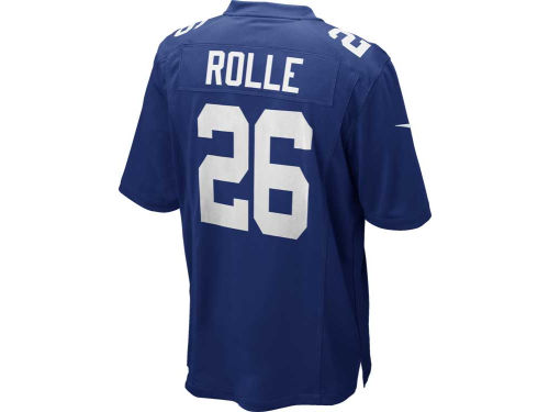 New York Giants Antrel Rolle Nike NFL Game Jersey