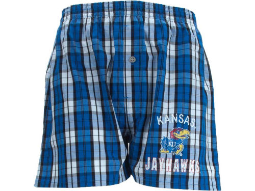 Kansas Jayhawks College Concepts NCAA Historic Boxer