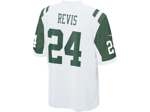 New York Jets Darrelle Revis Nike NFL Game Jersey Extended Size