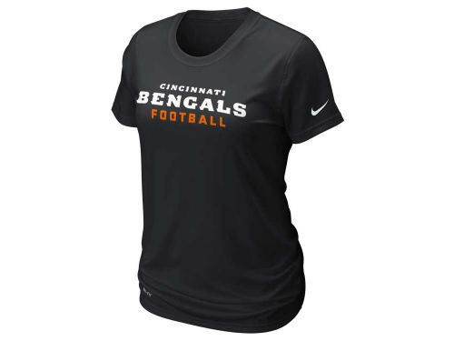 Cincinnati Bengals Nike NFL Womens Legend Wordmark T-Shirt