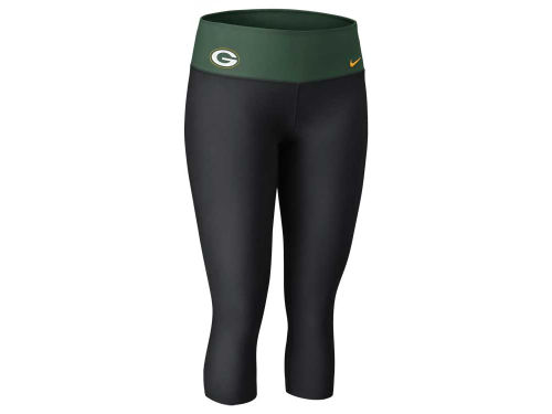 Green Bay Packers Nike NFL Womens Dri-Fit Legend Capri