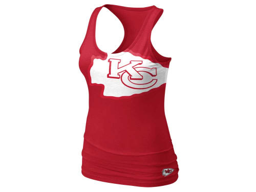 Kansas City Chiefs Nike NFL Womens Tri Big Logo Tank
