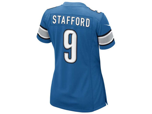 Detroit Lions Matthew Stafford Nike NFL Womens Game Jersey