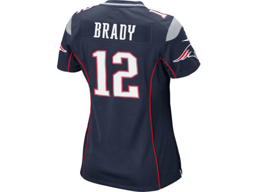 New England Patriots Tom Brady Nike NFL Women's Game Jersey