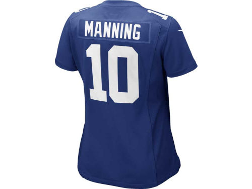 New York Giants Eli Manning Nike NFL Womens Game Jersey
