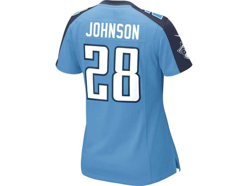 Tennessee Titans Chris Johnson Nike NFL Women's Game Jersey