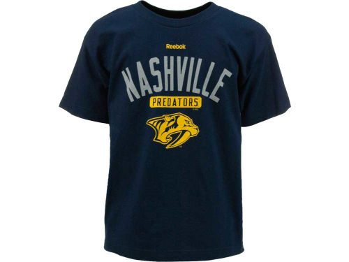Nashville Predators Nike NHL Youth Long Sleeve Acquisition T-Shirt