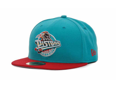 Detroit Pistons NBA Hardwood Classics BC 2 Tone 59FIFTY Hats
