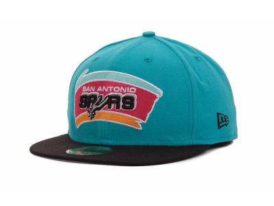 San Antonio Spurs NBA Hardwood Classics BC 2 Tone 59FIFTY Hats