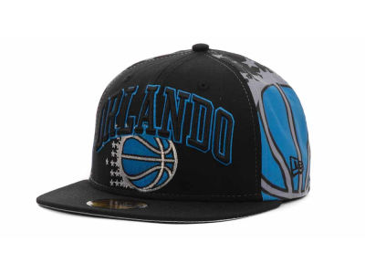 Orlando Magic NBA Hardwood Classics Mid-Court 59FIFTY Hats