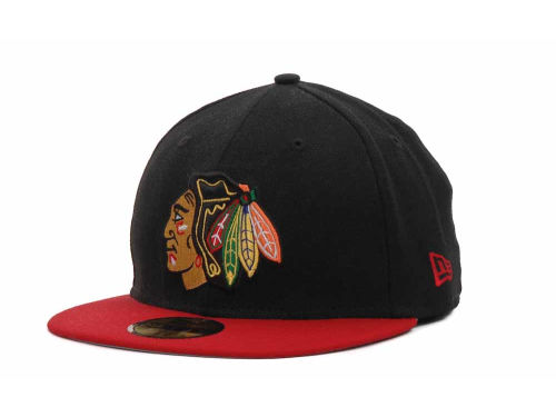 Chicago Blackhawks New Era NHL BC 2 Tone 59FIFTY Hats
