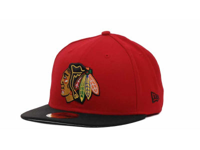 Chicago Blackhawks NHL BC 2 Tone 59FIFTY Hats