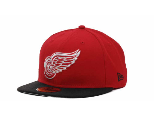 Detroit Red Wings New Era NHL BC 2 Tone 59FIFTY Hats
