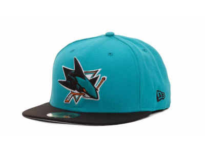 San Jose Sharks NHL BC 2 Tone 59FIFTY Hats