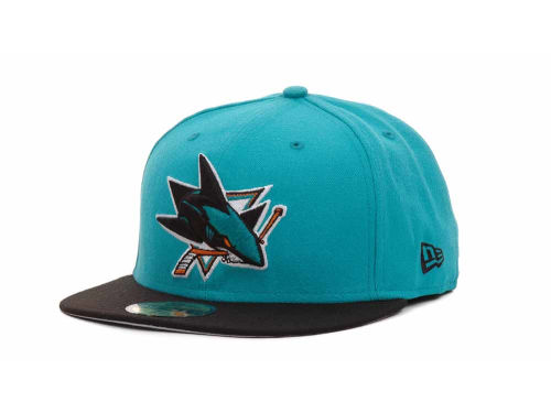 San Jose Sharks New Era NHL BC 2 Tone 59FIFTY Hats
