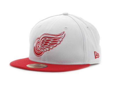 Detroit Red Wings NHL BC 2 Tone 59FIFTY Hats