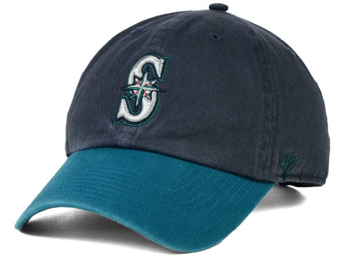 Seattle Mariners MLB On-Field Replica '47 CLEAN UP Cap Hats