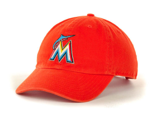 Miami Marlins '47 Brand MLB Clean Up Hats